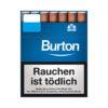 Burton Zigarillos Big Pack Blue Blau