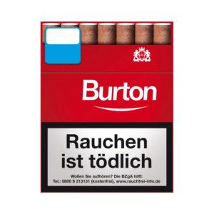 Burton Original Zigarillos Big Pack Red Rot