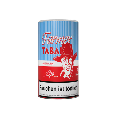 Farmer Rot Pfeifentabak Zigarettentabak zum stopfen
