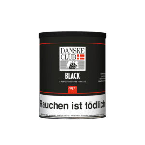Danske Club Black Pfeifentabak Vanille