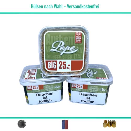 Pepe Rich Green Volumentabak Zigarettentabak Eimer