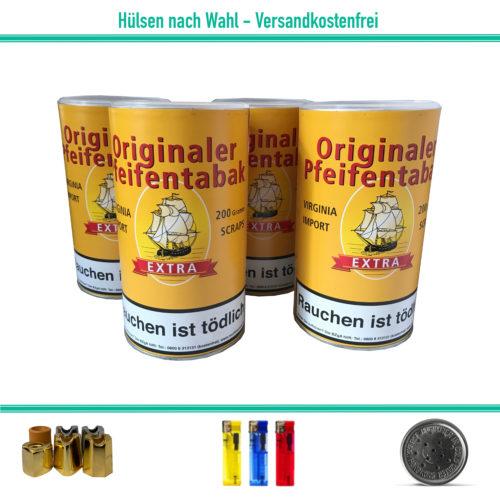 Originaler Pfeifentabak Scrap Stopftabak Tabak