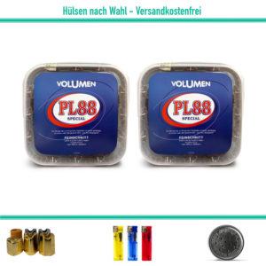 PL88 Volumentabak Zigarettentabak Stopftabak Blau Eimer