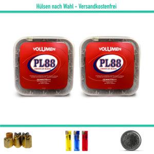 PL88 Volumentabak Stopftabak Zigarettentabak Rot Eimer