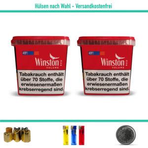 Winston Giga Volumentabak Stopftabak Zigarettentabak Eimer
